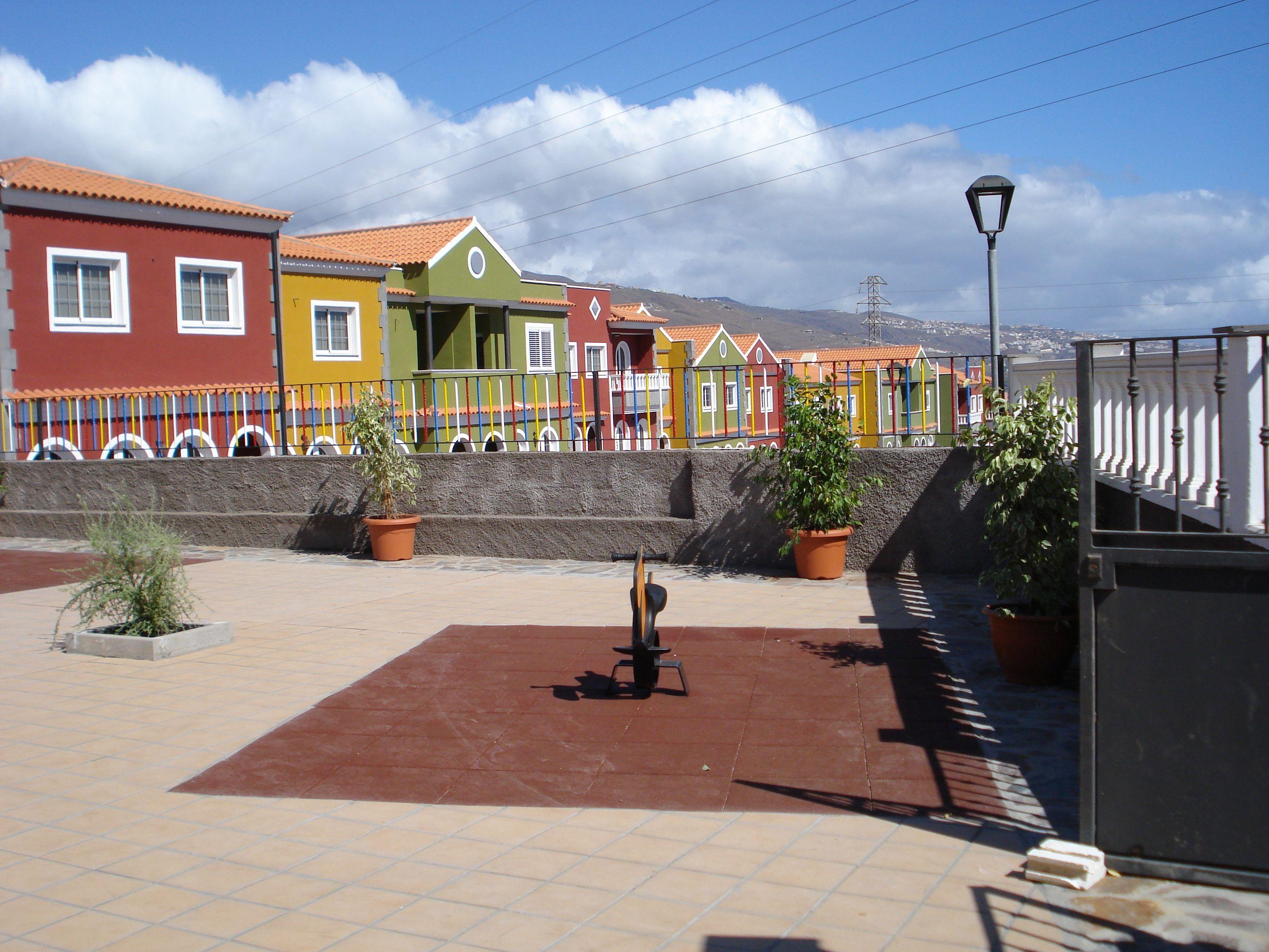 Construcciones de casas y zonas exteriores