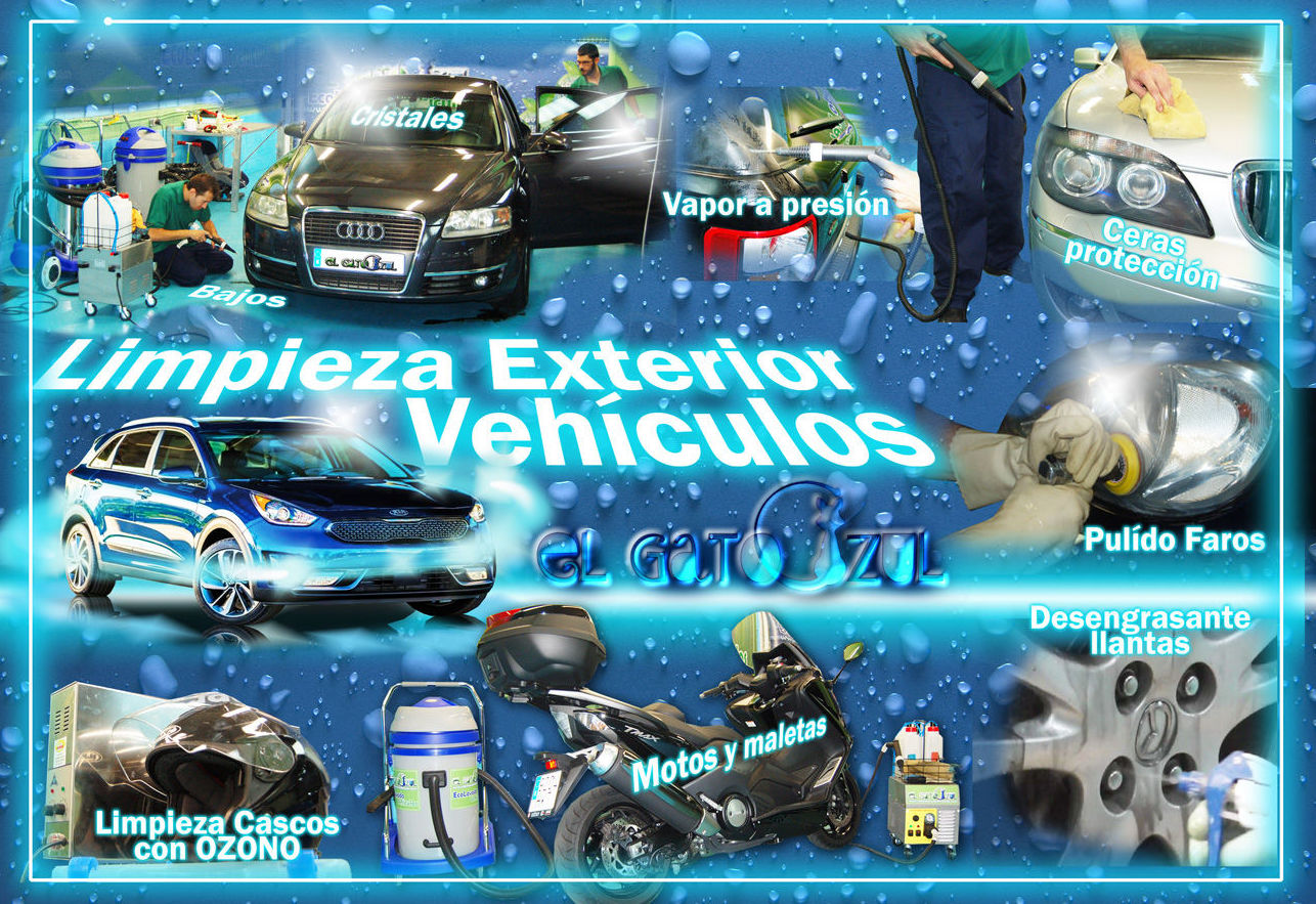 Foto 7 de Limpieza de vehículos en  | El Gato Azul Ecolavado Vehículos