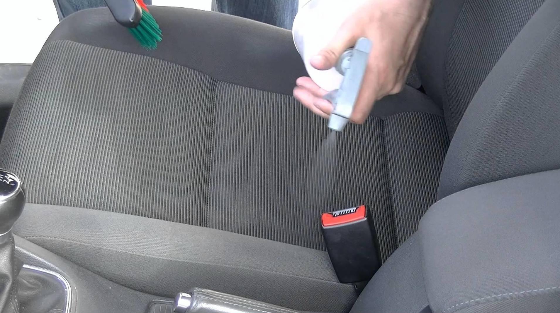 Limpieza asiento