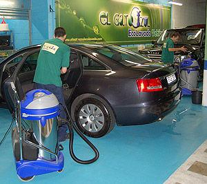 Lavado Interior: Servicios y Precios de El Gato Azul Ecolavado Vehículos