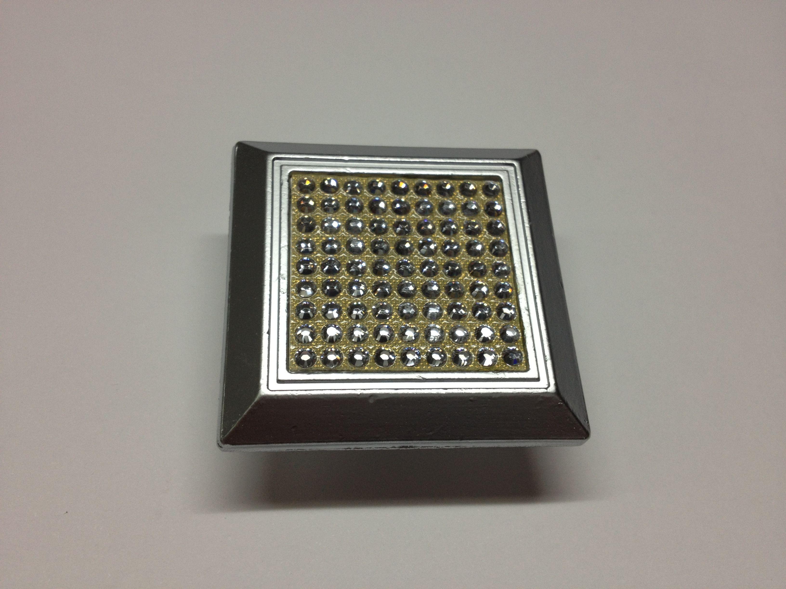 Pomo tirador con cristal de swarovski: Catálogo de Herrajes Franpe