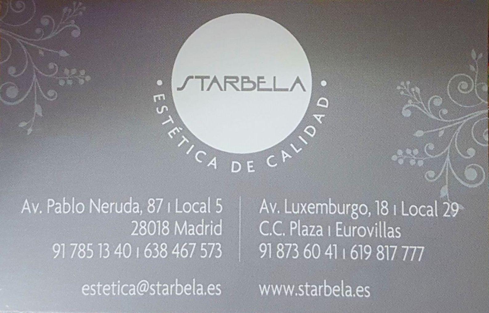 Foto 1 de Centros de estética en Madrid | Starbela