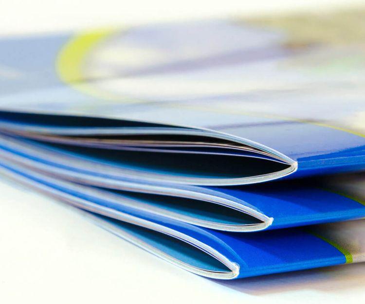 Encuadernación y plegado de documentos