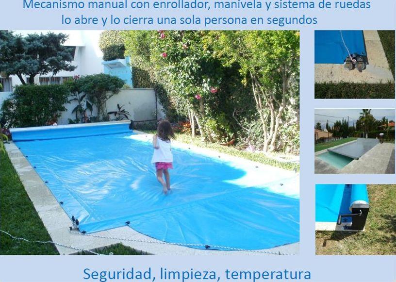 Cubierta de piscinas para todo el año en Madrid