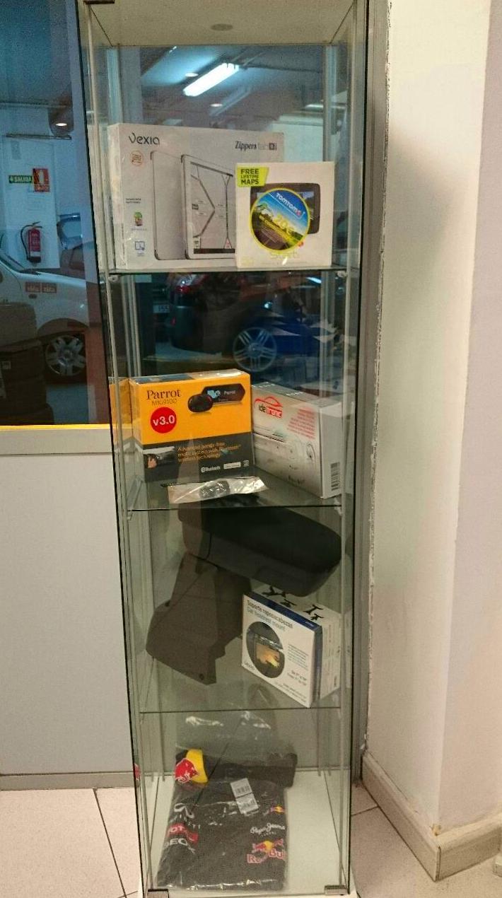 accesorios precio coste