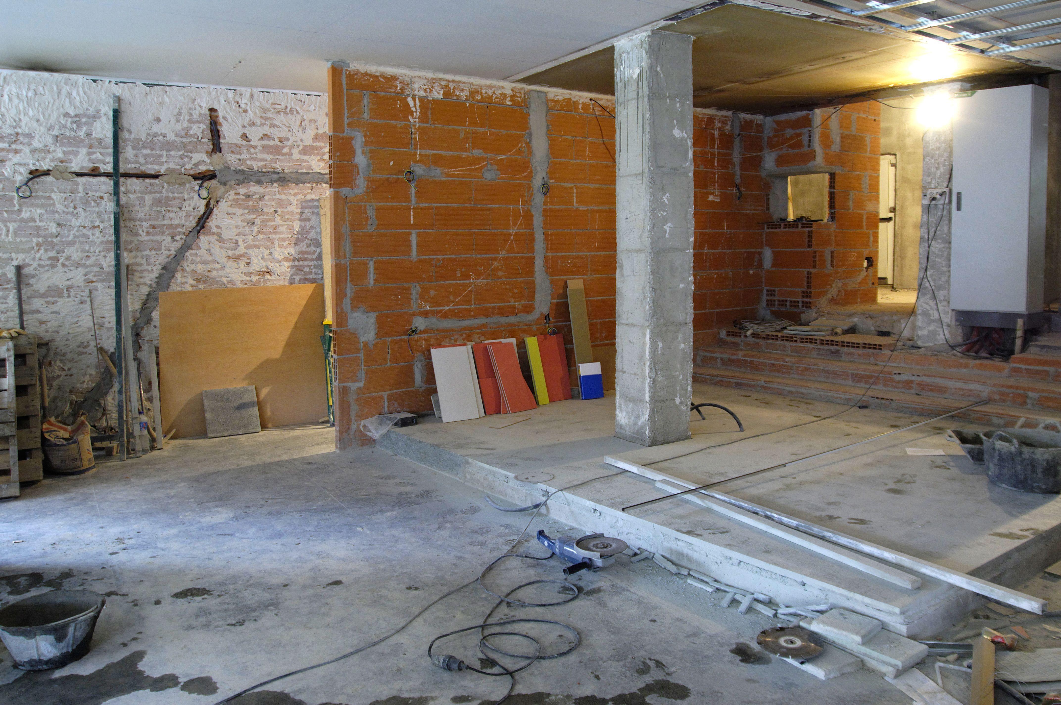Instalaciones de tabiques y suelo de pladur: Servicios de Sintrahogar Construcciones y Reformas