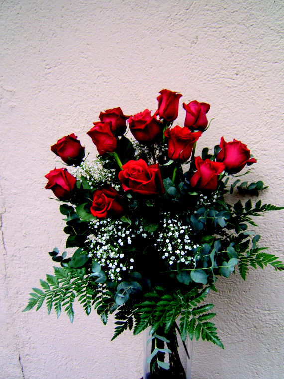 Ramo rosas disponible en distintos colores