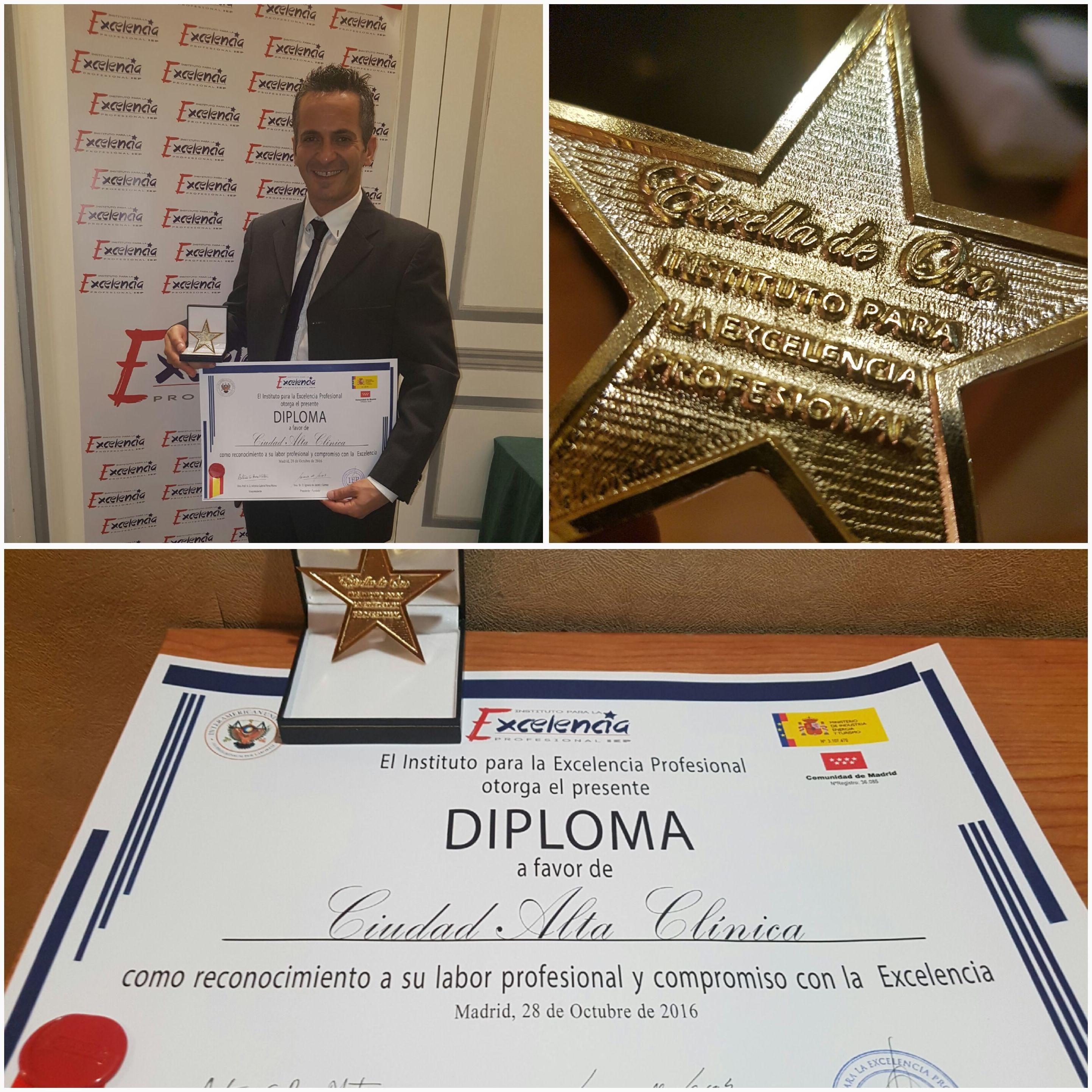 Estrella de Oro Ciudad Alta Clínica de Fisioterapia y Audiología en Las Palmas