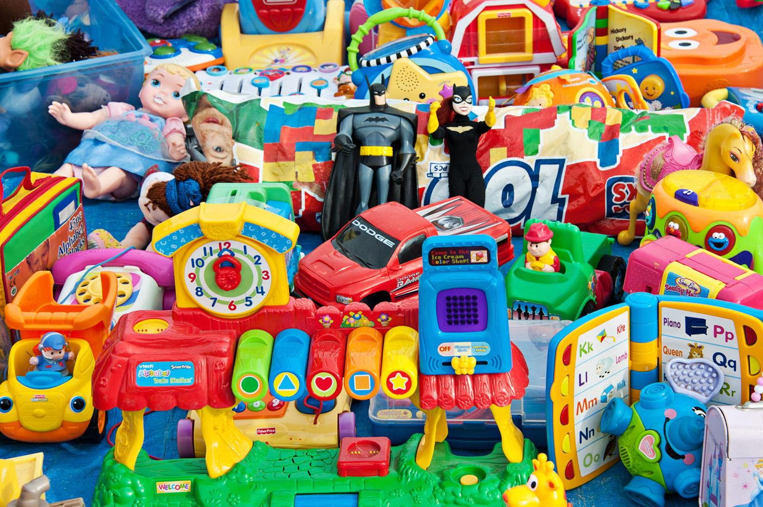 Recogida y venta de juguetes usados