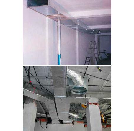 Instalación de conductos de ventilación y aire acondicionado en Asturias