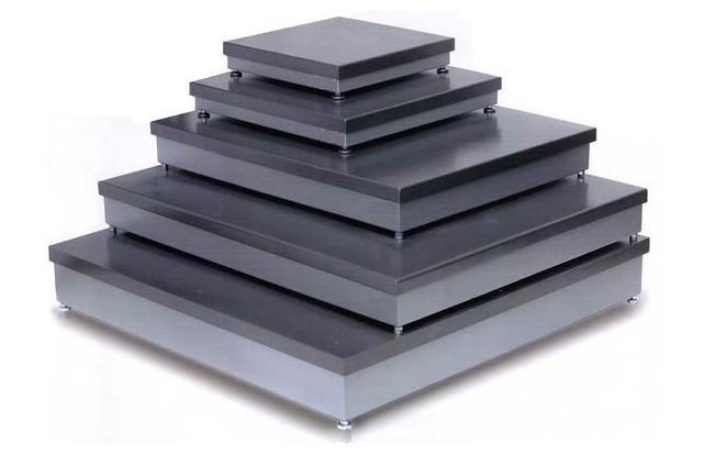 Plataformas pesaje de sobresuelo