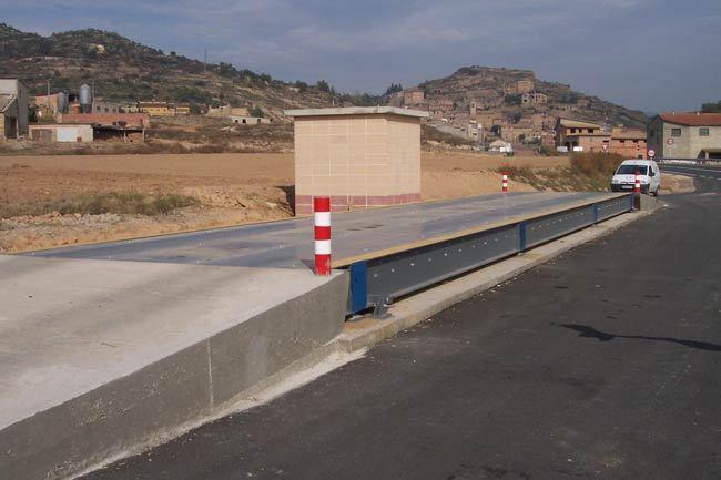 Básculas puente de Sobresuelo Metálicas