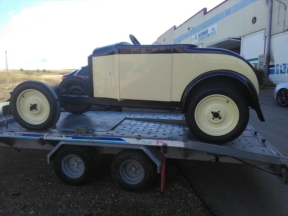 Restauración de coches antiguos en Badajoz