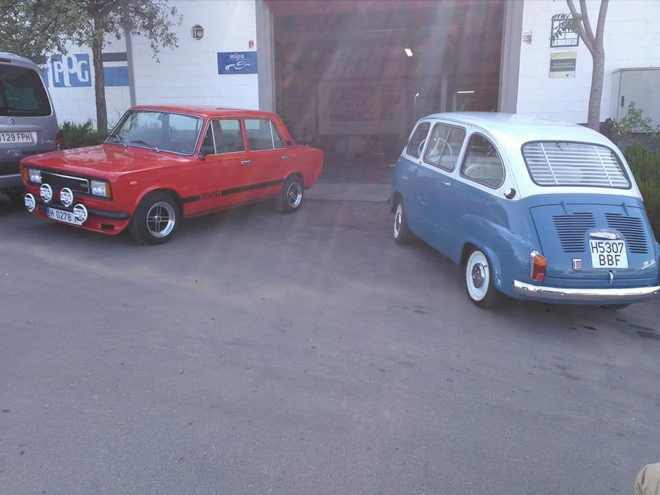 Restauración de coches clásicos en Badajoz