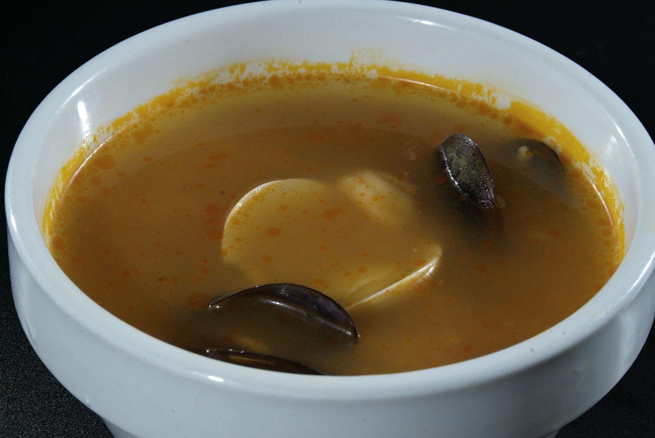 Sopa de Peix en Lorret de Mar - Restaurante Cantarradas