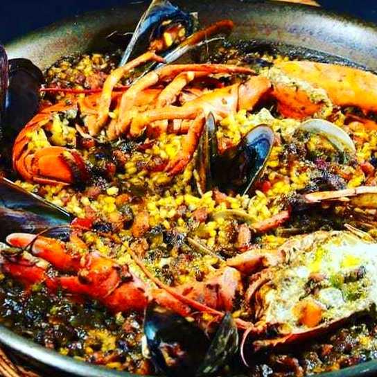 Menú Paella: Carta y Menus de Cantarradas