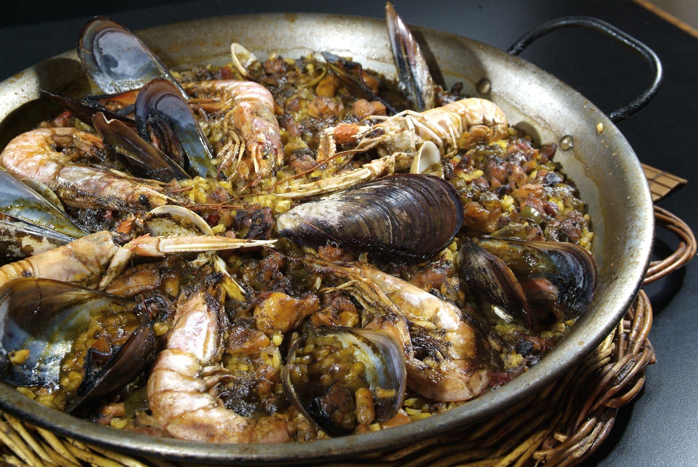 Paella Marinera en Lorret de Mar - Restaurante Cantarradas
