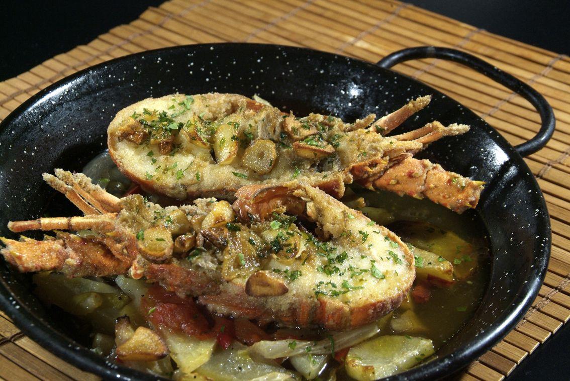 Llagosteta a la Andalza en Lorret de Mar - Restaurante Cantarradas