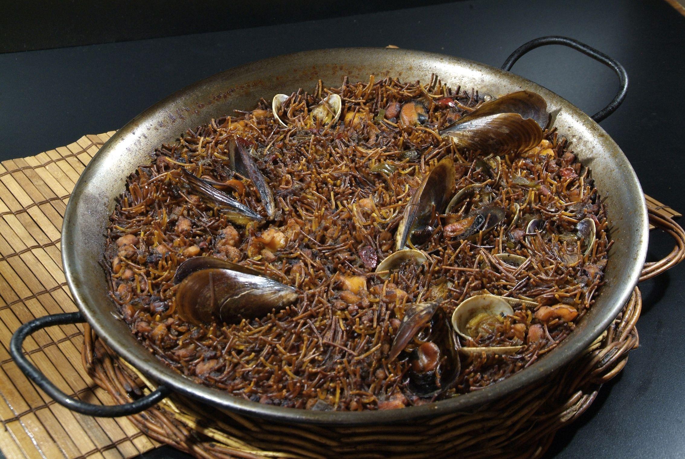 Fidegua en Lorret de Mar - Restaurante Cantarradas