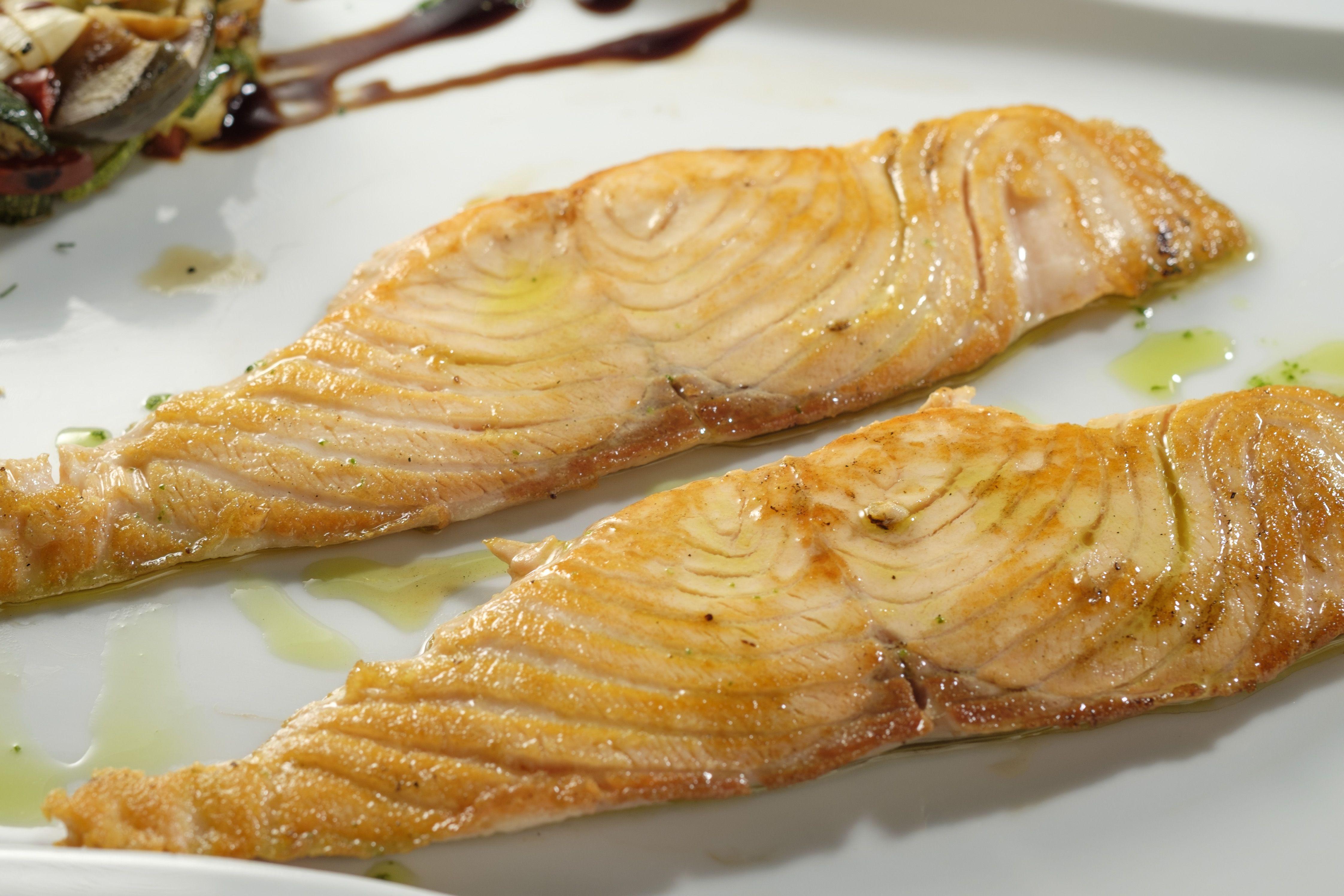 Salmon en Lorret de Mar - Restaurante Cantarradas