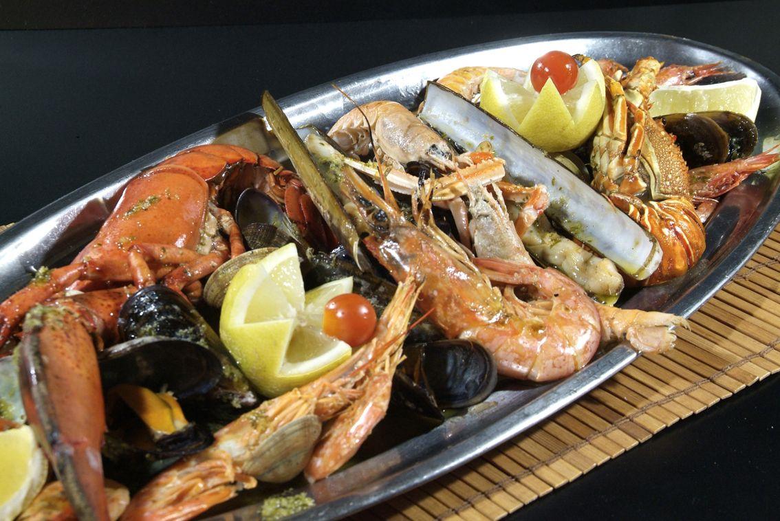 Mariscada en Lorret de Mar - Restaurante Cantarradas