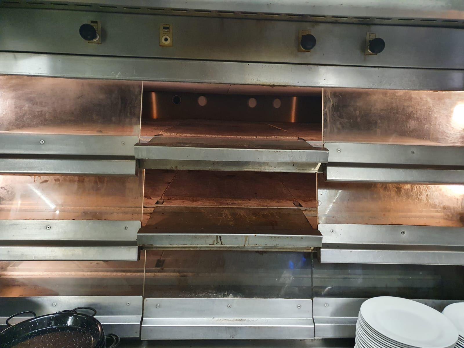 Nuestro horno paellero