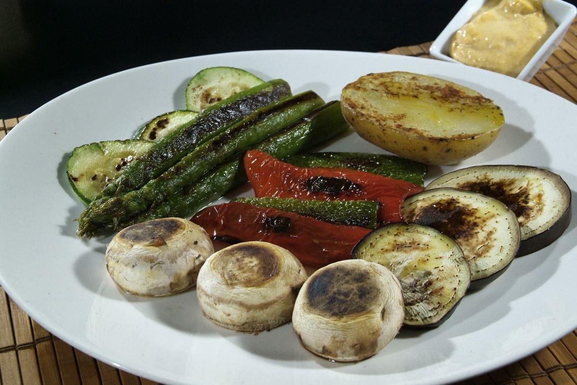 Graellada de Verduras en Lorret de Mar - Restaurante Cantarradas
