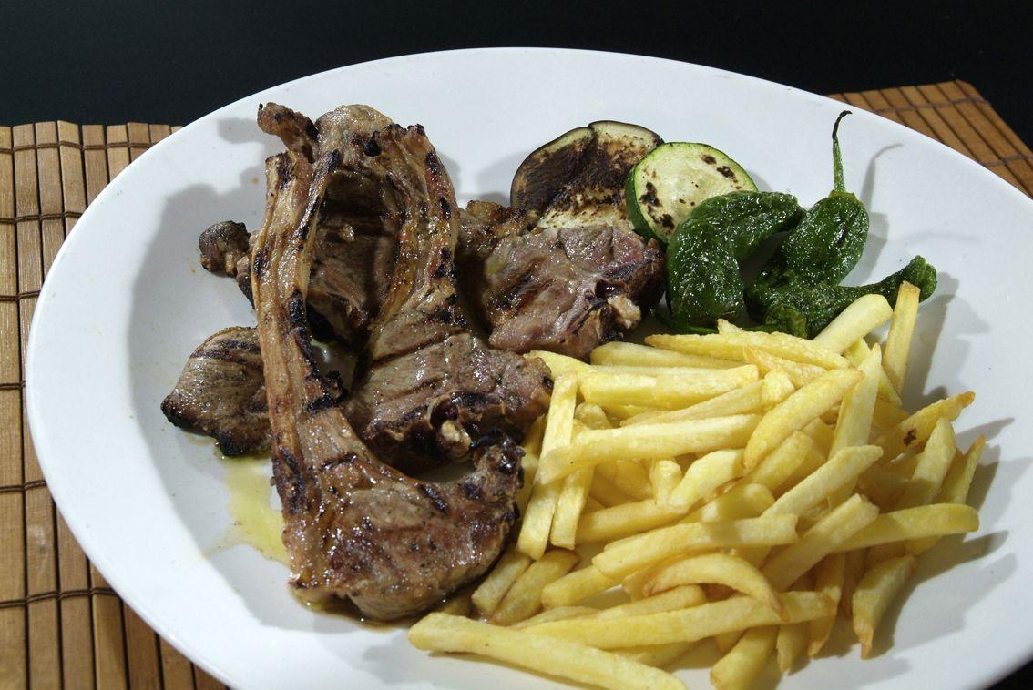 Costilla de Cerdo en Lorret de Mar - Restaurante Cantarradas