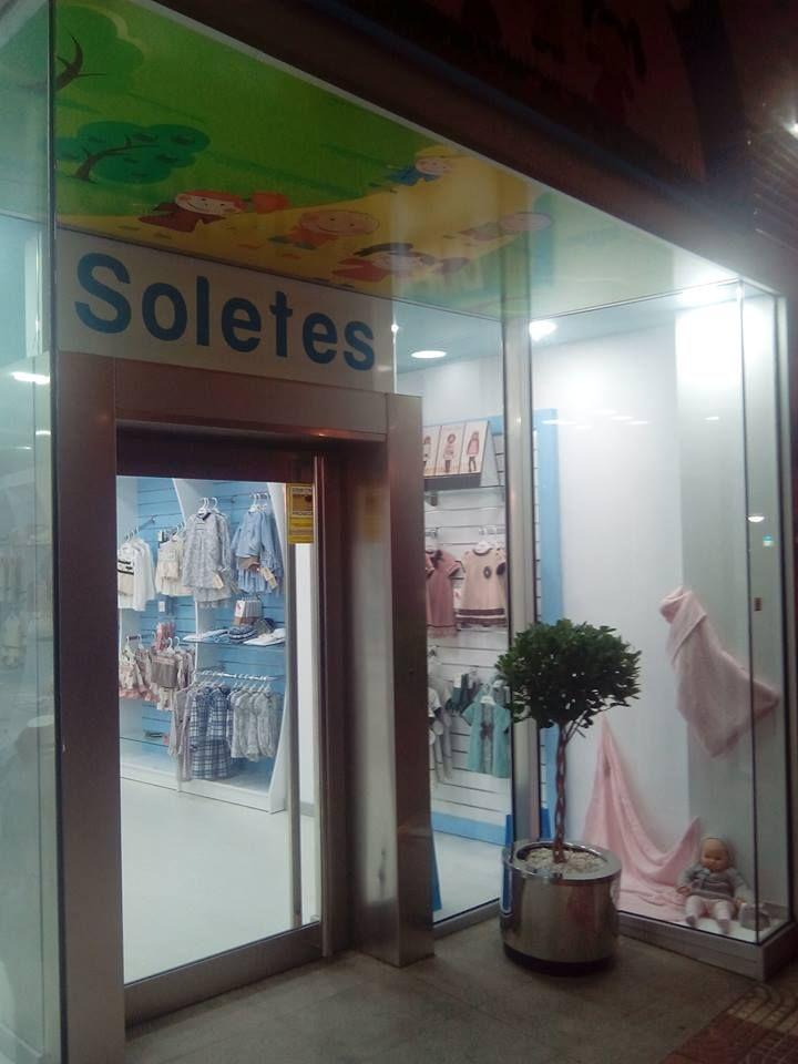 Tienda de ropa de niños en Aguadulce