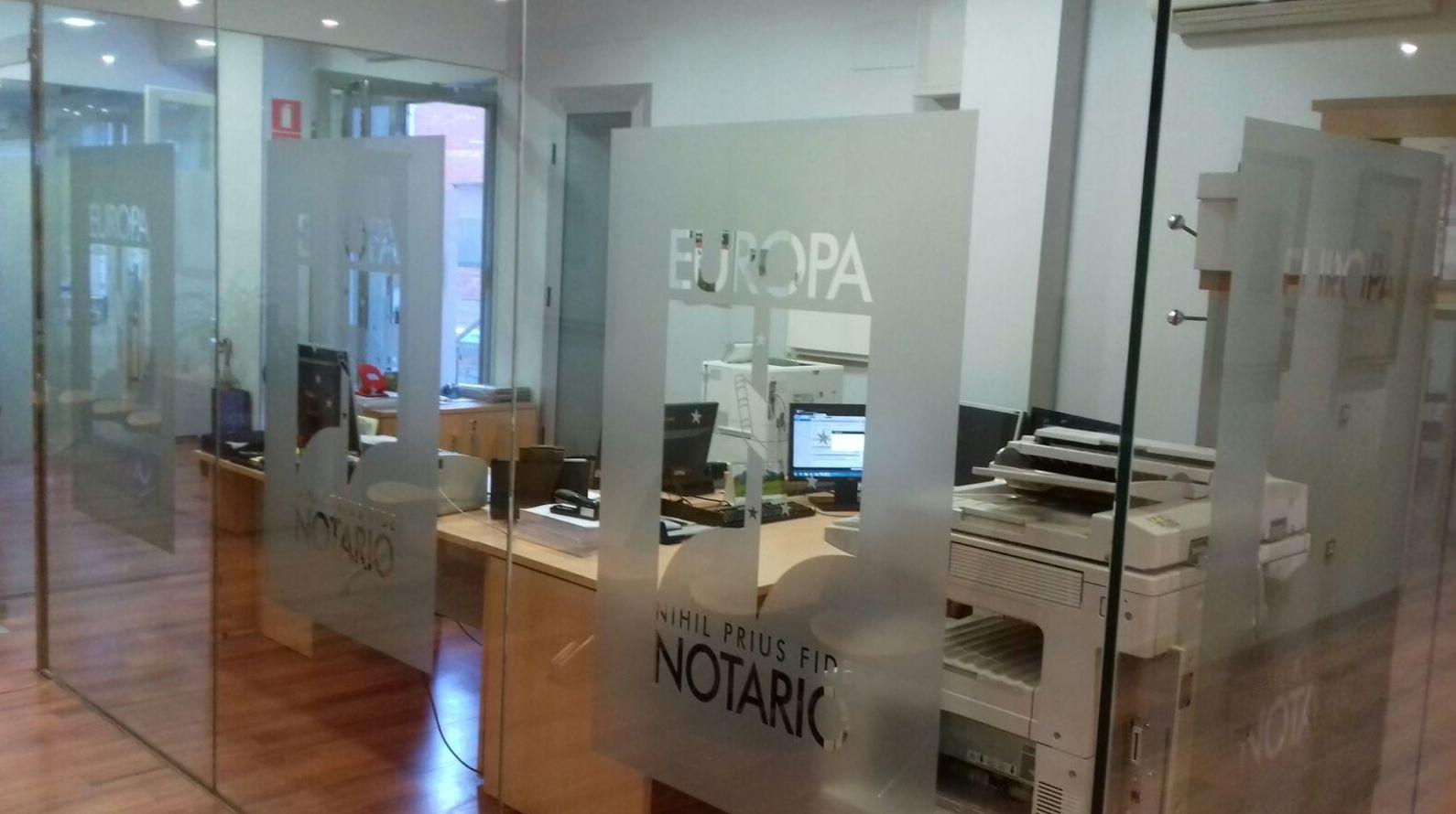Foto 2 de Notarías en Badajoz | Notaría de Luis Plá Rubio
