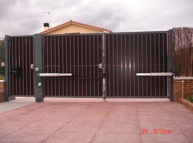 Motores para puertas de garaje en navarra