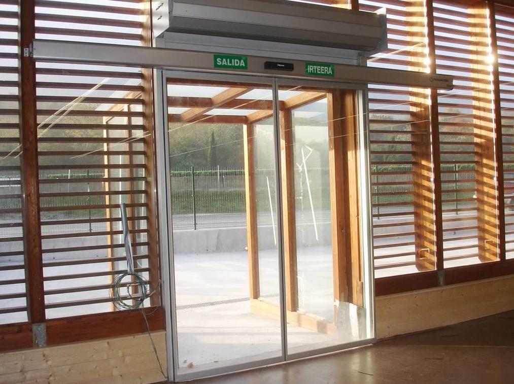 Puertas automáticas Navatek en Pamplona
