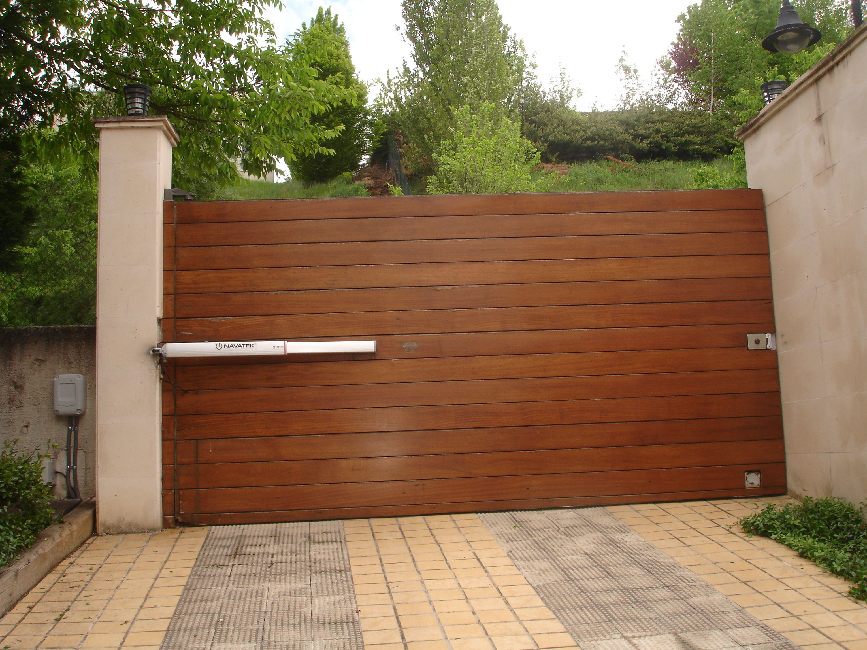 Puertas de garaje automaticas Navarra