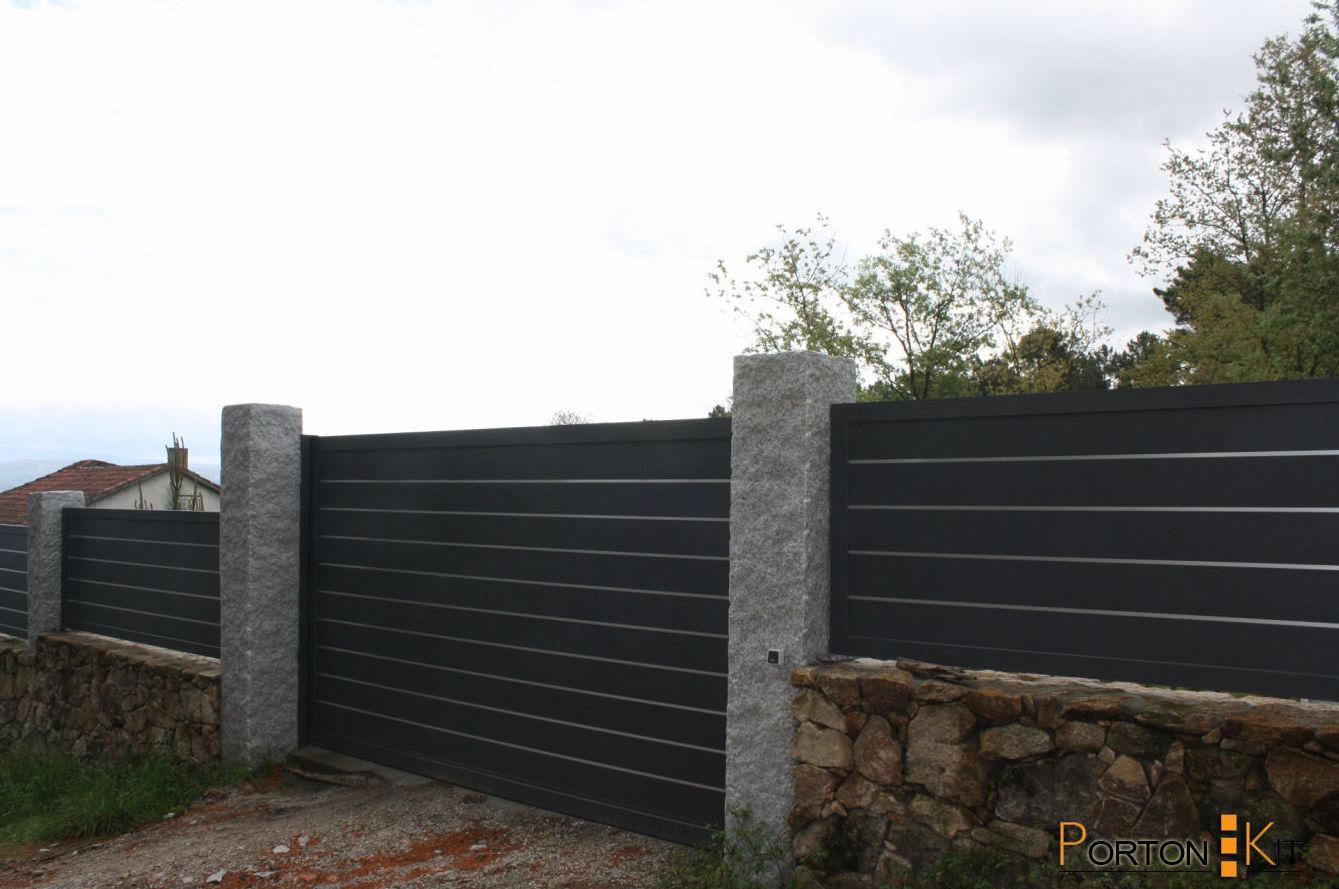Puertas de aluminio exteiores