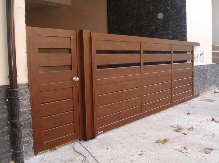 Puertas jardin aluminio fabulous para with puertas jardin - Puertas de jardin ...