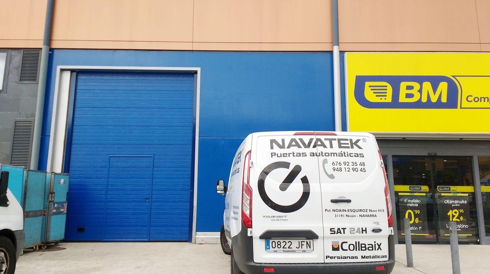 empresa puertas industriales navarra