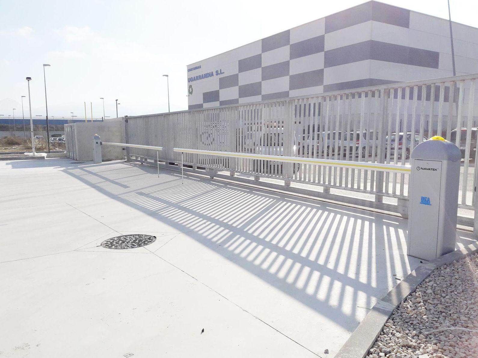 instaladores barreras automaticas navarra