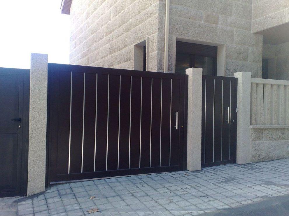 Puertas de garaje diseño exclusivo navarra