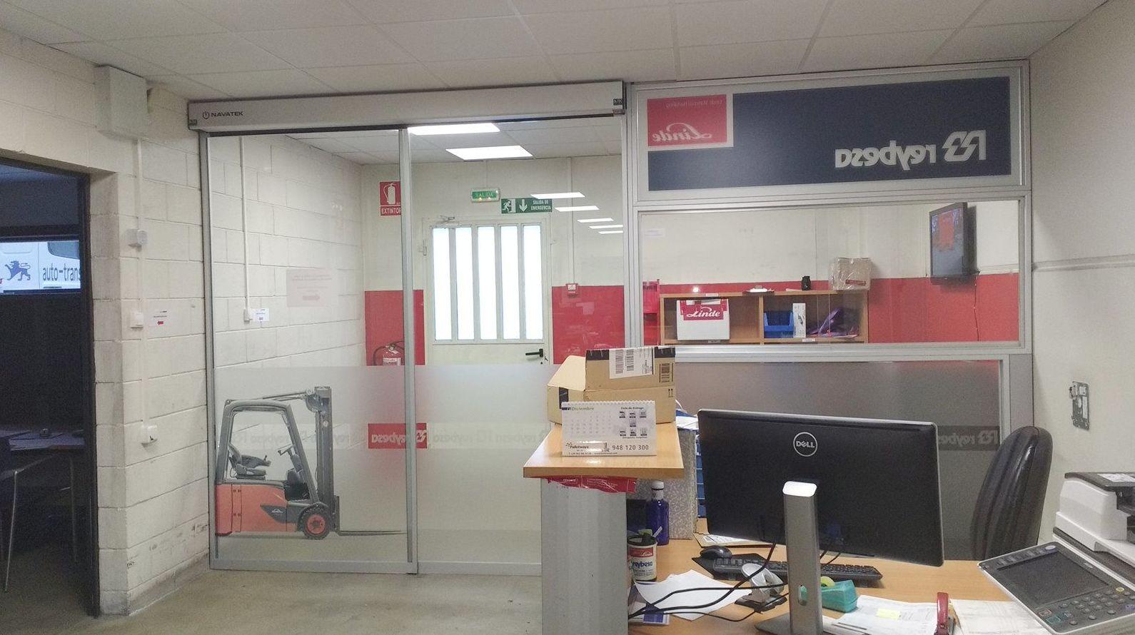 venta puertas automaticas cristal navarra