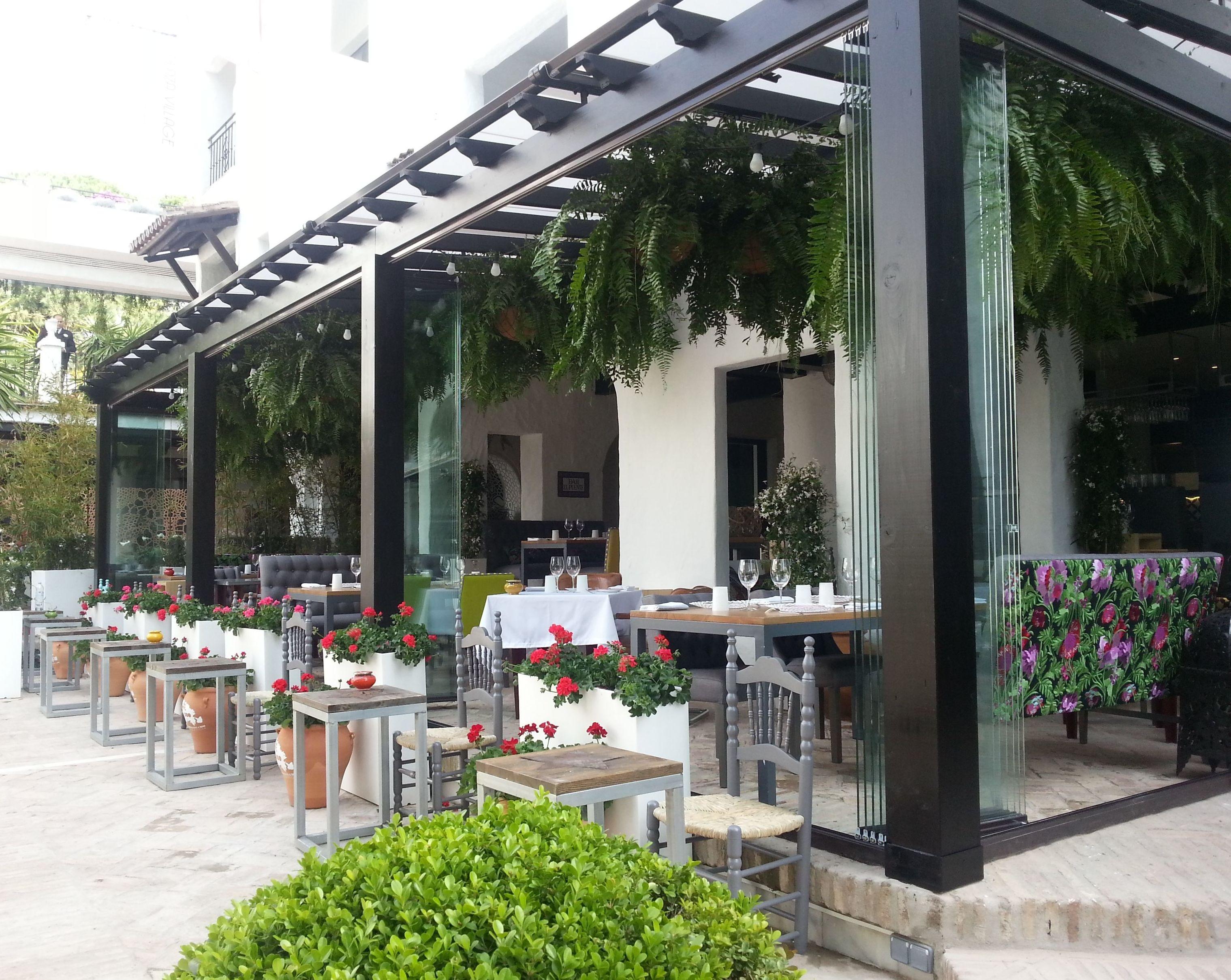 Cortinas de cristal para hostelería: Productos y Servicios de Aluminios Gamero