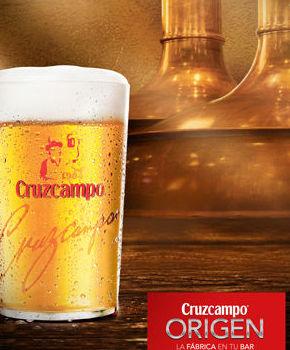 distribución cerveza cruzcampo en Camas