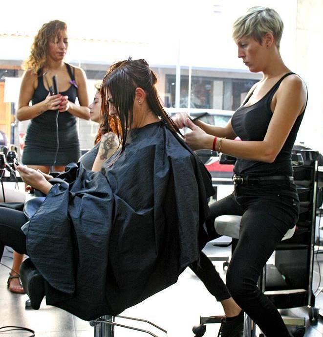 Corte y peinado: Servicios de Lips Beauty Ibiza