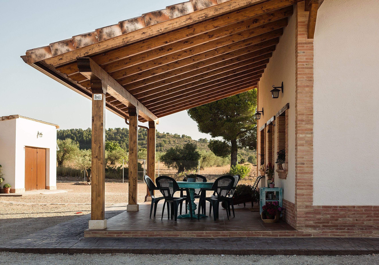 Pérgola de madera Valencia