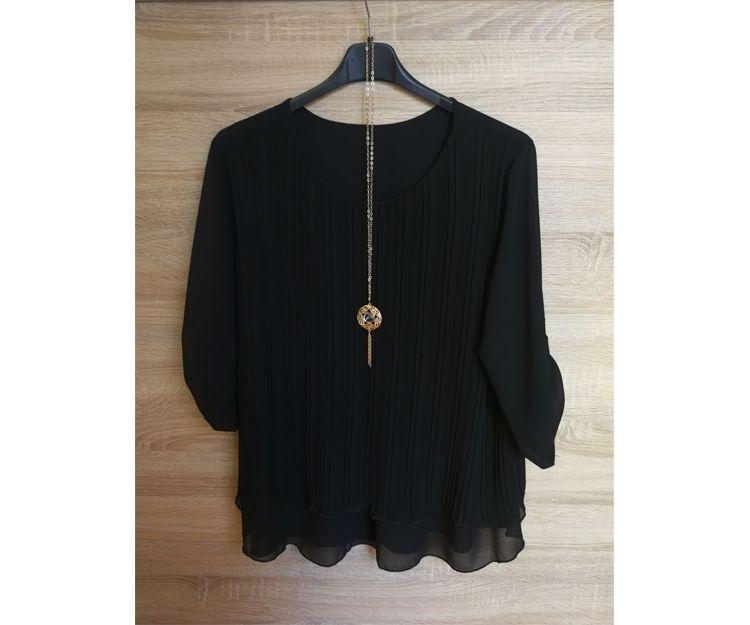 Camisa negra básica