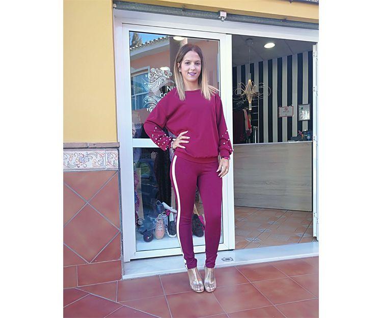 Jersey y pantalón ajustado