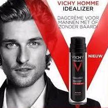 Vichy Homme idealizador de piel con barba 50ml: Productos de Parafarmacia Centro