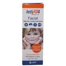 LetiAT4 Facial Piel Atópica y Seca 50ml.: Productos de Parafarmacia Centro