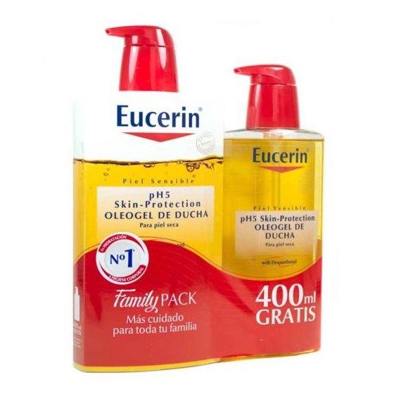 Eucerín Oleogel 1L + Familypack 400ml: Productos de Parafarmacia Centro