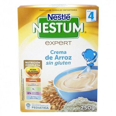 Nestle Nestum crema de arroz sin glúten: Productos de Parafarmacia Centro