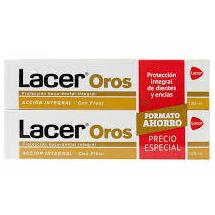 Lacer pasta con flúor 2x125ml: Productos de Parafarmacia Centro